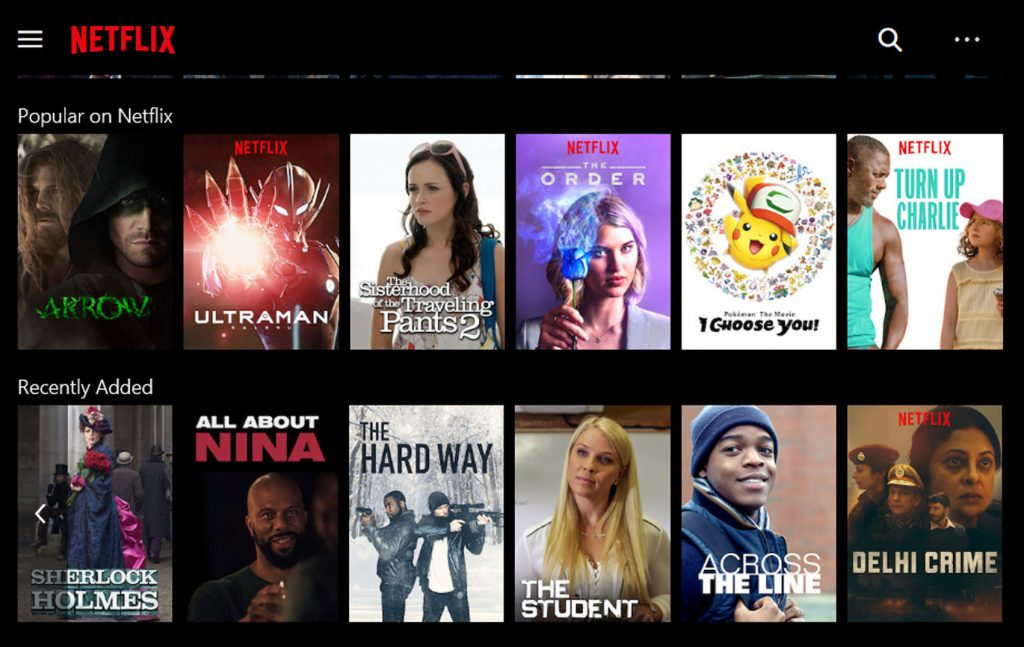 THE STUDENT ON NETFLIX – ALICIA ONLINE